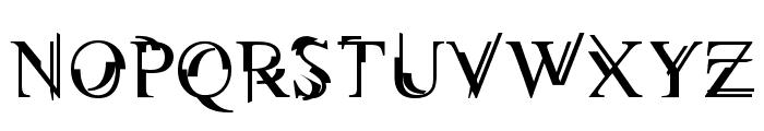 Unserif Font UPPERCASE