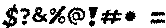 Unstable_raw_release Font OTHER CHARS