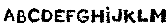 Unstable_raw_release Font LOWERCASE