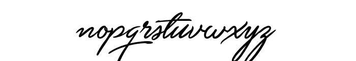 Unthrift First Personal Font LOWERCASE