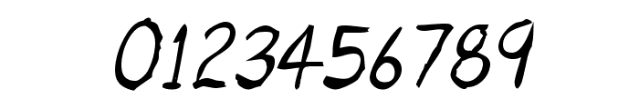 Untidy Italic Skrawl Font OTHER CHARS