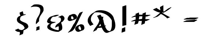 UnzialusLatinus Font OTHER CHARS