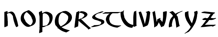 UnzialusLatinus Font UPPERCASE