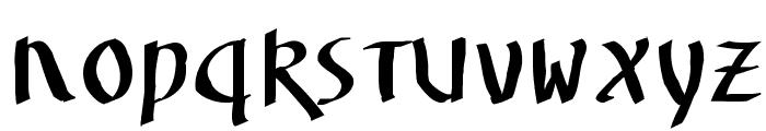 UnzialusLatinus Font LOWERCASE