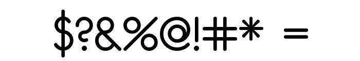 unifur Font OTHER CHARS