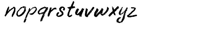 Uncle Oscar Italic Font LOWERCASE
