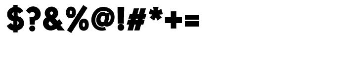 Uni Sans Heavy Font OTHER CHARS