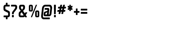 Unicod Sans Condensed Medium Font OTHER CHARS