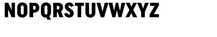Uniform Condensed Black Font UPPERCASE