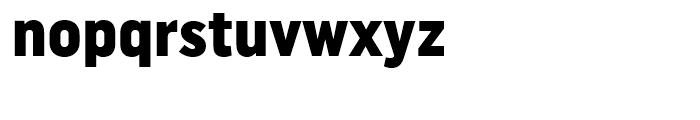 Uniform Condensed Black Font LOWERCASE