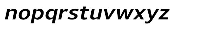 Uniman Bold Italic Font LOWERCASE