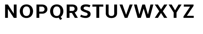 Uniman Bold Font UPPERCASE