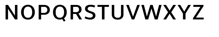 Uniman DemiBold Font UPPERCASE