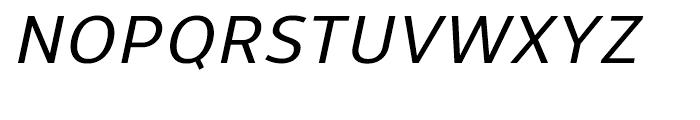 Uniman Medium Italic Font UPPERCASE