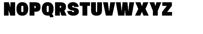 Uninsta Black Font UPPERCASE