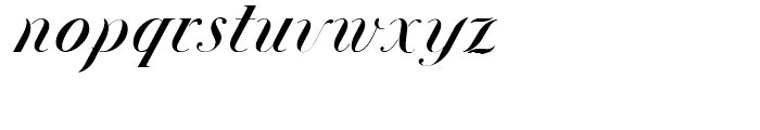 Union Telegraph NF Regular Font LOWERCASE