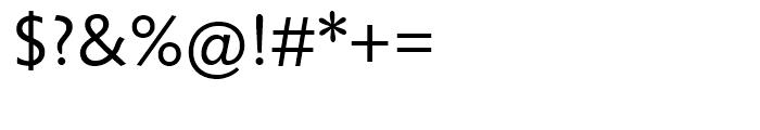 Unita Demi Light Font OTHER CHARS