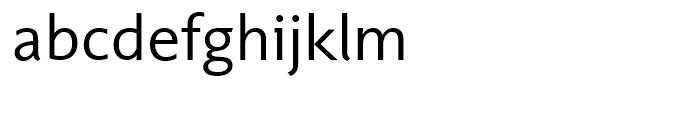 Unita Demi Light Font LOWERCASE
