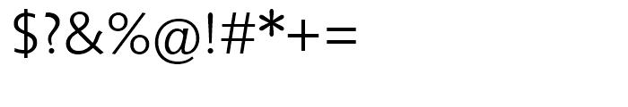 Unita Light Font OTHER CHARS