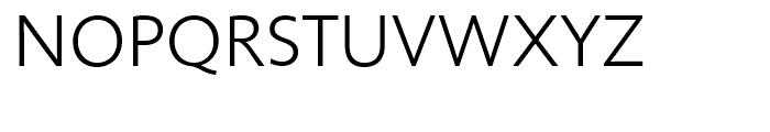 Unita Light Font UPPERCASE