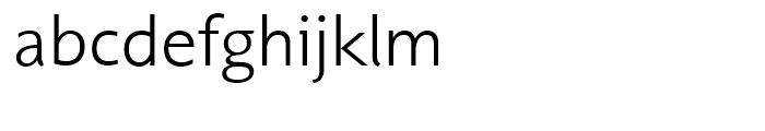 Unita Light Font LOWERCASE