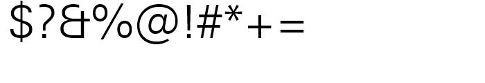 Univers Next 330 Basic Light Font OTHER CHARS