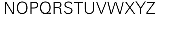 Univers Next 330 Basic Light Font UPPERCASE