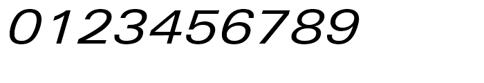 Univers Next 441 Extended Regular Italic Font OTHER CHARS