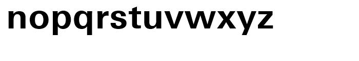 Univers Next 630 Basic Bold Font LOWERCASE