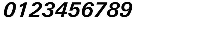 Univers Next 631 Basic Bold Italic Font OTHER CHARS