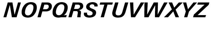 Univers Next 631 Basic Bold Italic Font UPPERCASE