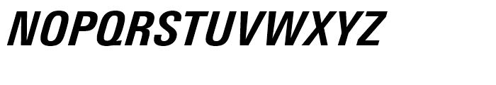 Univers Next 721 Condensed Heavy Italic Font UPPERCASE