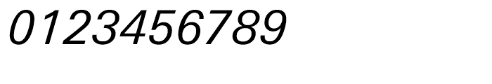 Univers Next Cyrillic 431 Italic Font OTHER CHARS