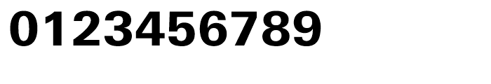 Univers Next Cyrillic 730 Heavy Font OTHER CHARS