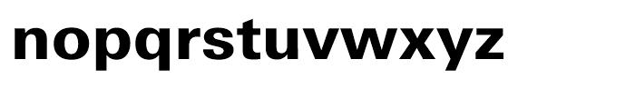 Univers Next Cyrillic 730 Heavy Font LOWERCASE