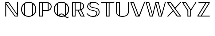 Universal Mathematical Pi 6 Font UPPERCASE