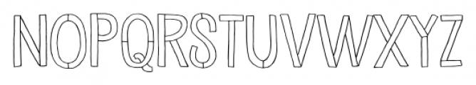 Undersong Regular Font UPPERCASE