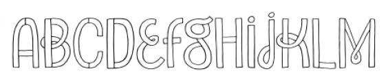 Undersong Regular Font LOWERCASE