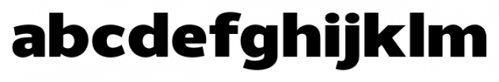Uniman Black Font LOWERCASE