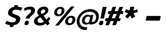 Uniman Bold Italic Font OTHER CHARS