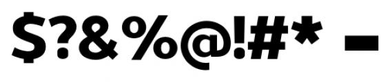 Uniman ExtraBold Font OTHER CHARS