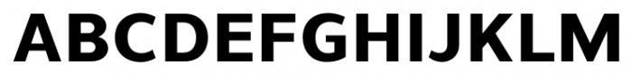 Uniman ExtraBold Font UPPERCASE