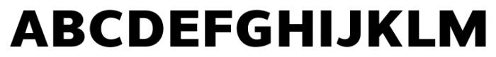 Uniman Heavy Font UPPERCASE