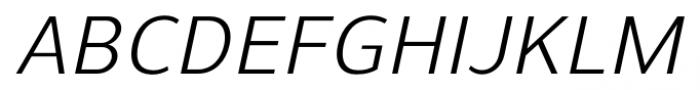 Uniman Italic Font UPPERCASE
