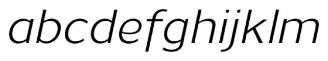 Uniman Italic Font LOWERCASE