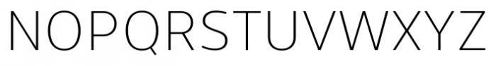 Uniman Light Font UPPERCASE