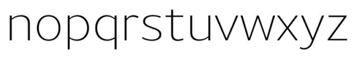 Uniman Light Font LOWERCASE