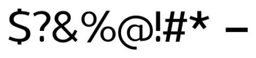 Uniman Medium Font OTHER CHARS