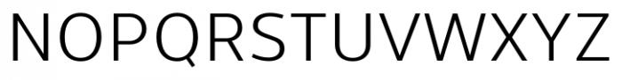 Uniman Regular Font UPPERCASE