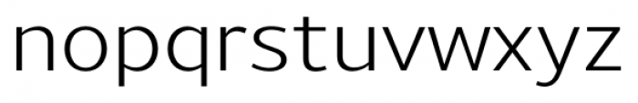 Uniman Regular Font LOWERCASE